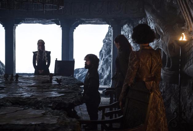 Daenerys War Council