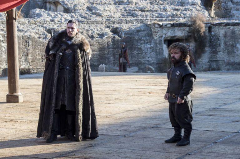 Jon and Tyrion Kings Landing
