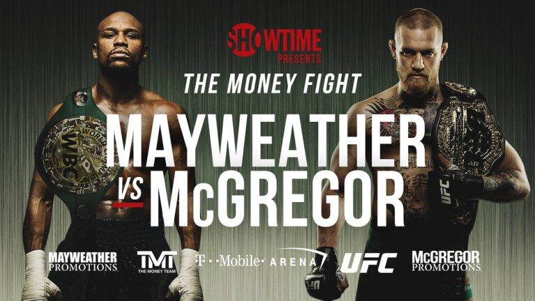 Mayweather v McGregor Poster