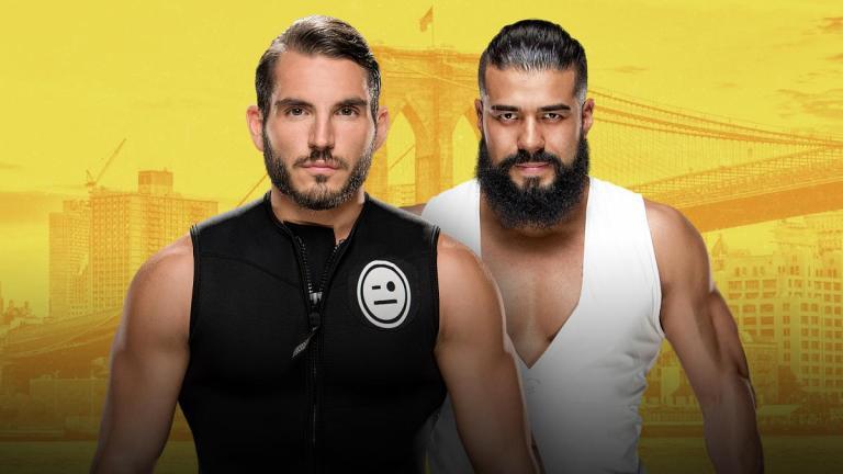 NXT Gargano v Almas