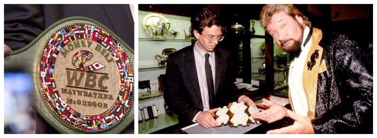 WBC Money Belt Million Dollar Belt